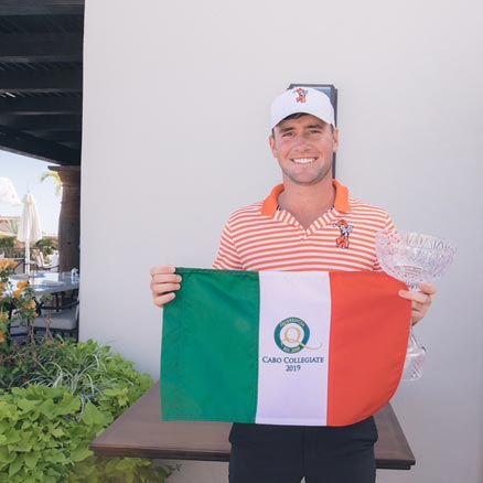 AUSTIN ECKROAT OF OSU TAKES MEDALIST HONORS IN CABO