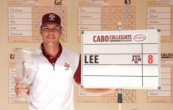 Walker Less of Texas A&M Takes Medalist Honors in Cabo